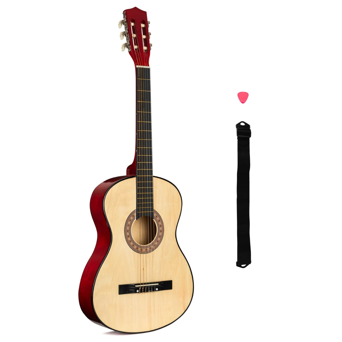 Music Zone 3/4 Beginner's Acoustic Guitar (Age 8-12)