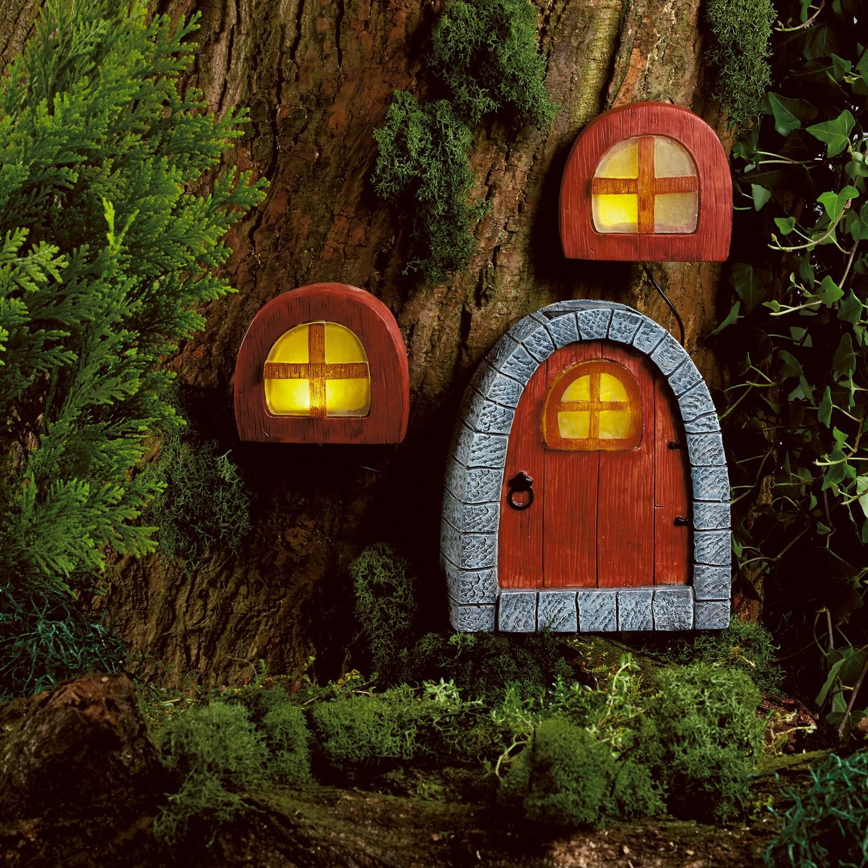 Image of Solar Powered Fairy Door & Windows