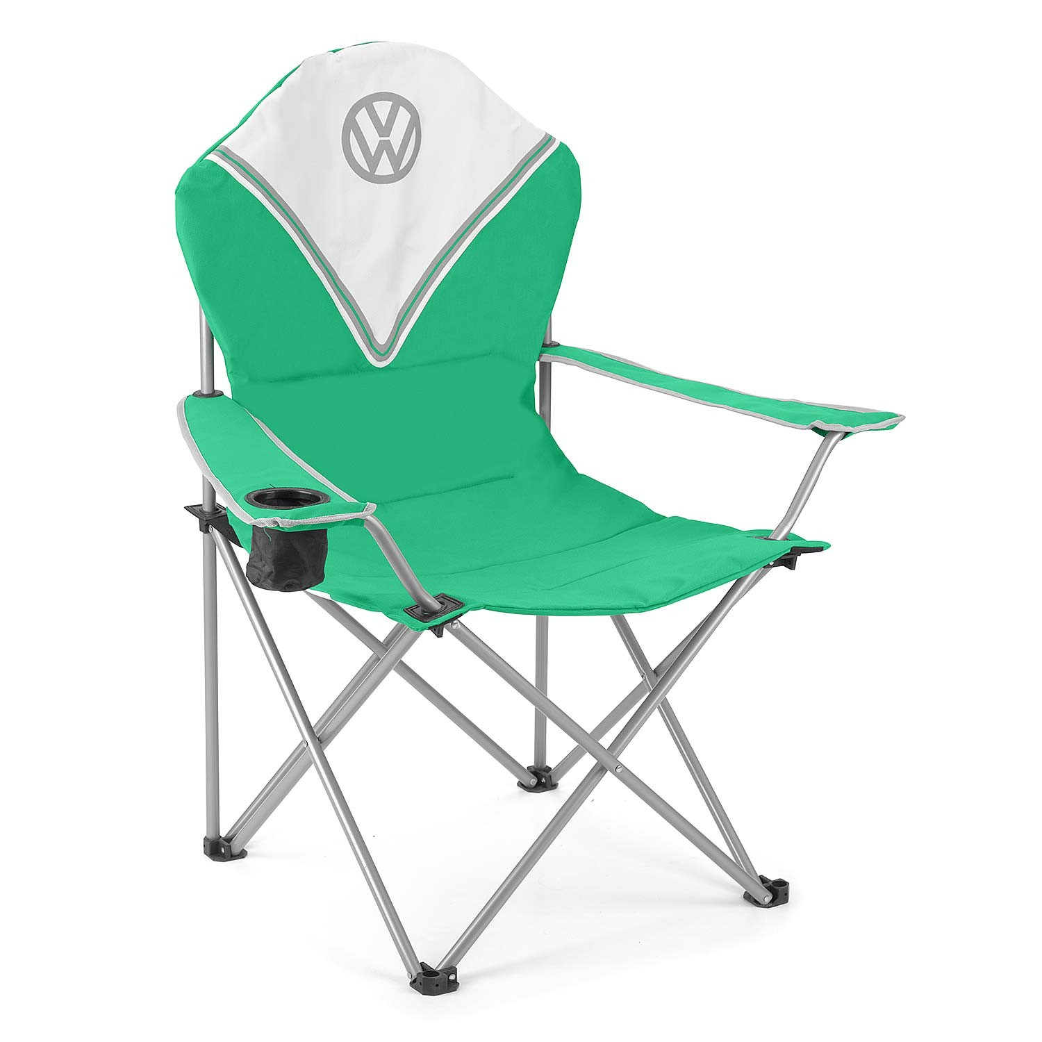 Volkswagen Deluxe Folding Camping Chair - Green