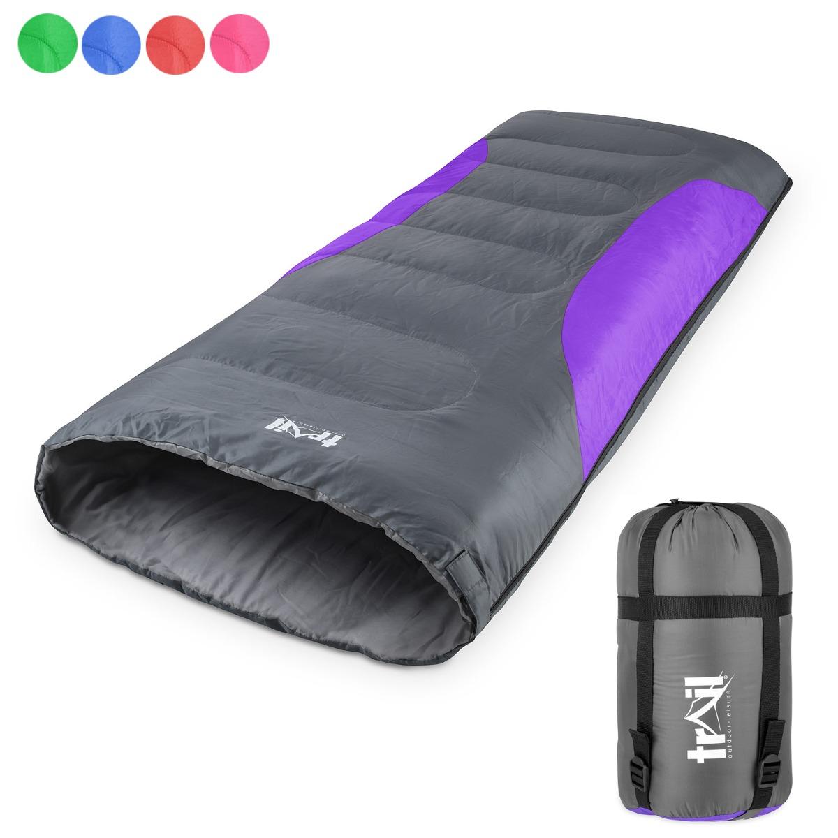 Mummy Sleeping Bag - Purple