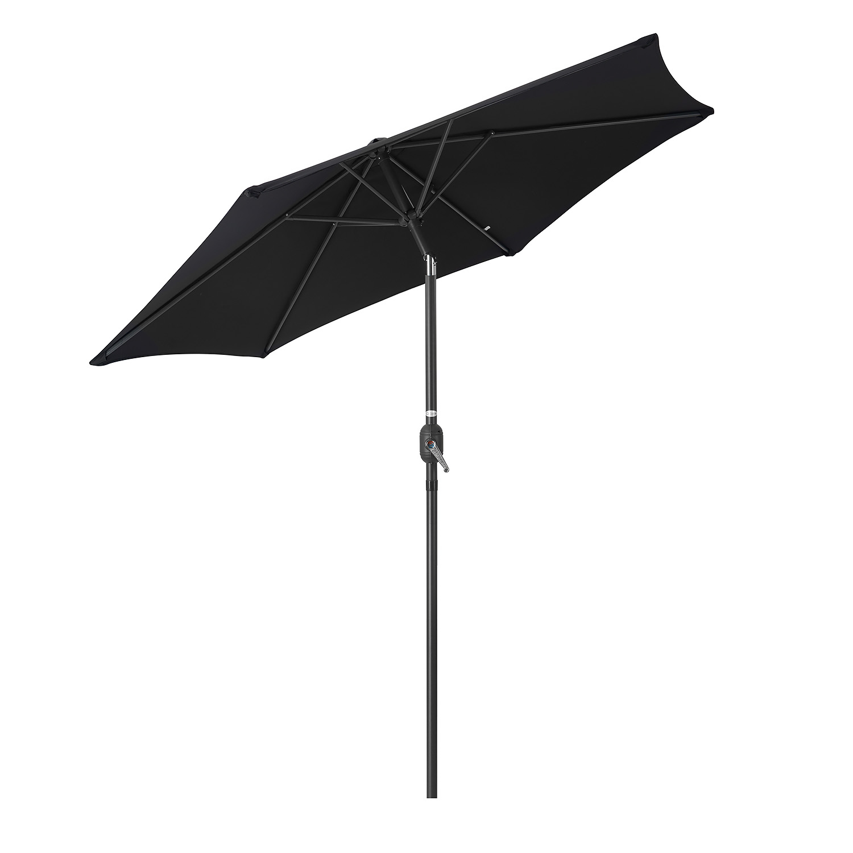 Image of 2.4m Tilting Parasol - Black