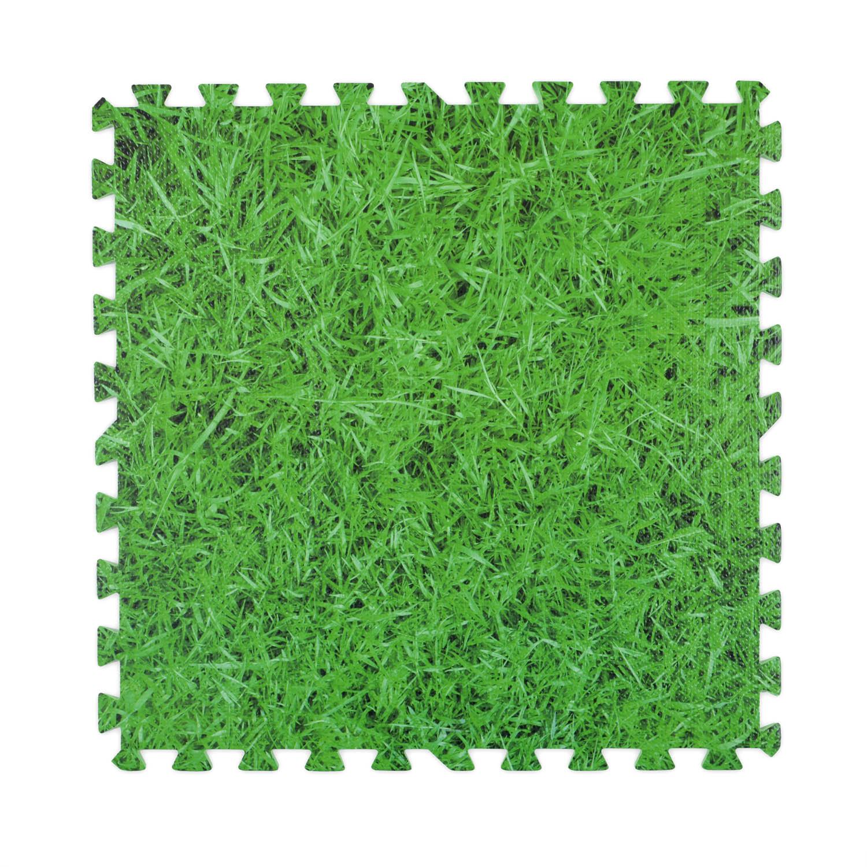 Image of Grass Foam Floor Mats - 4 Mats