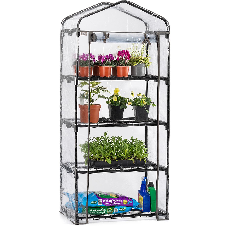Image of 4 Tier Mini Greenhouse - PVC