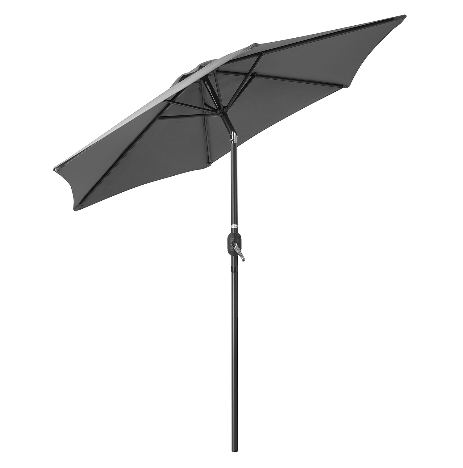Image of 2.4m Tilting Parasol - Grey