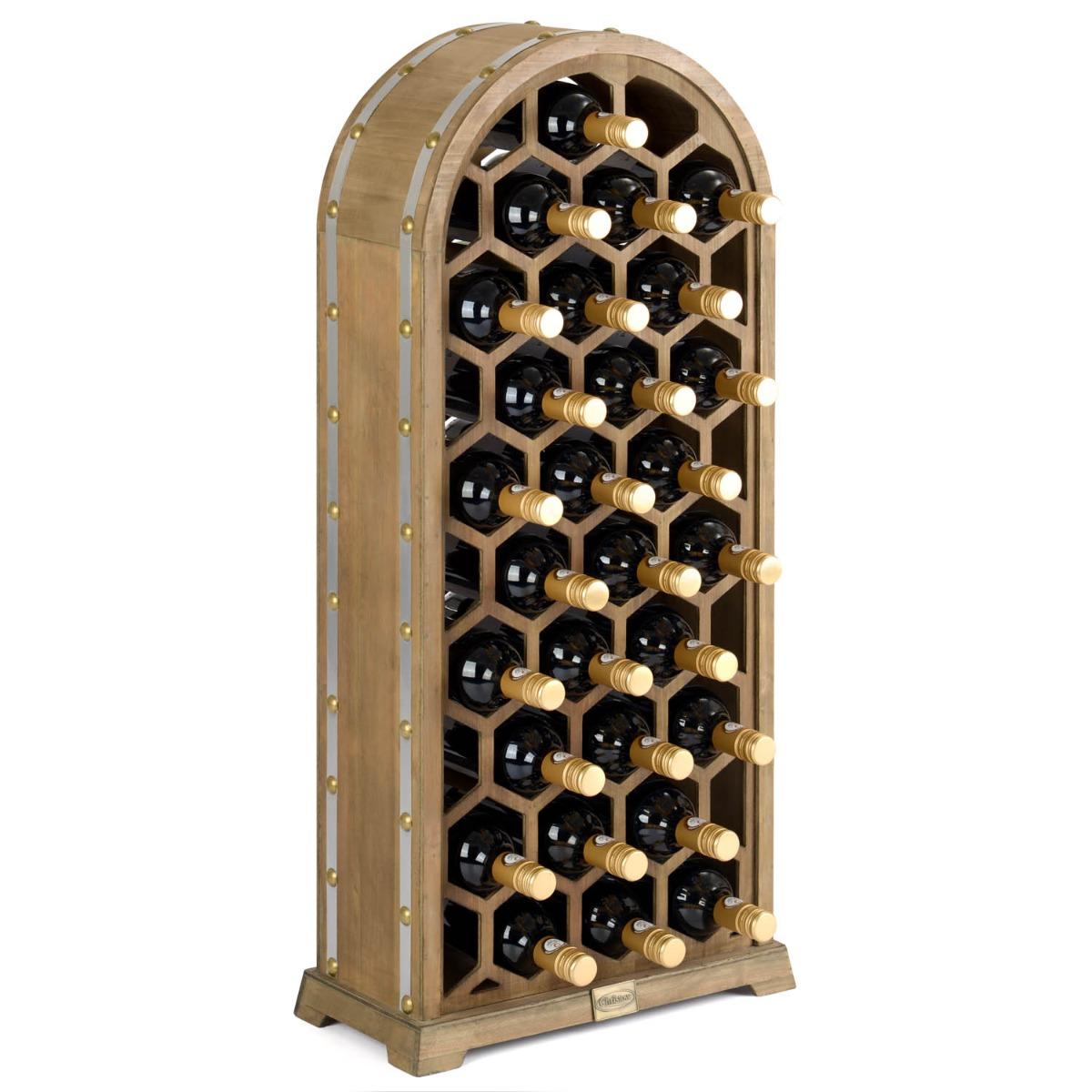 Image of 28 Bottle Honeycomb Wine Rack