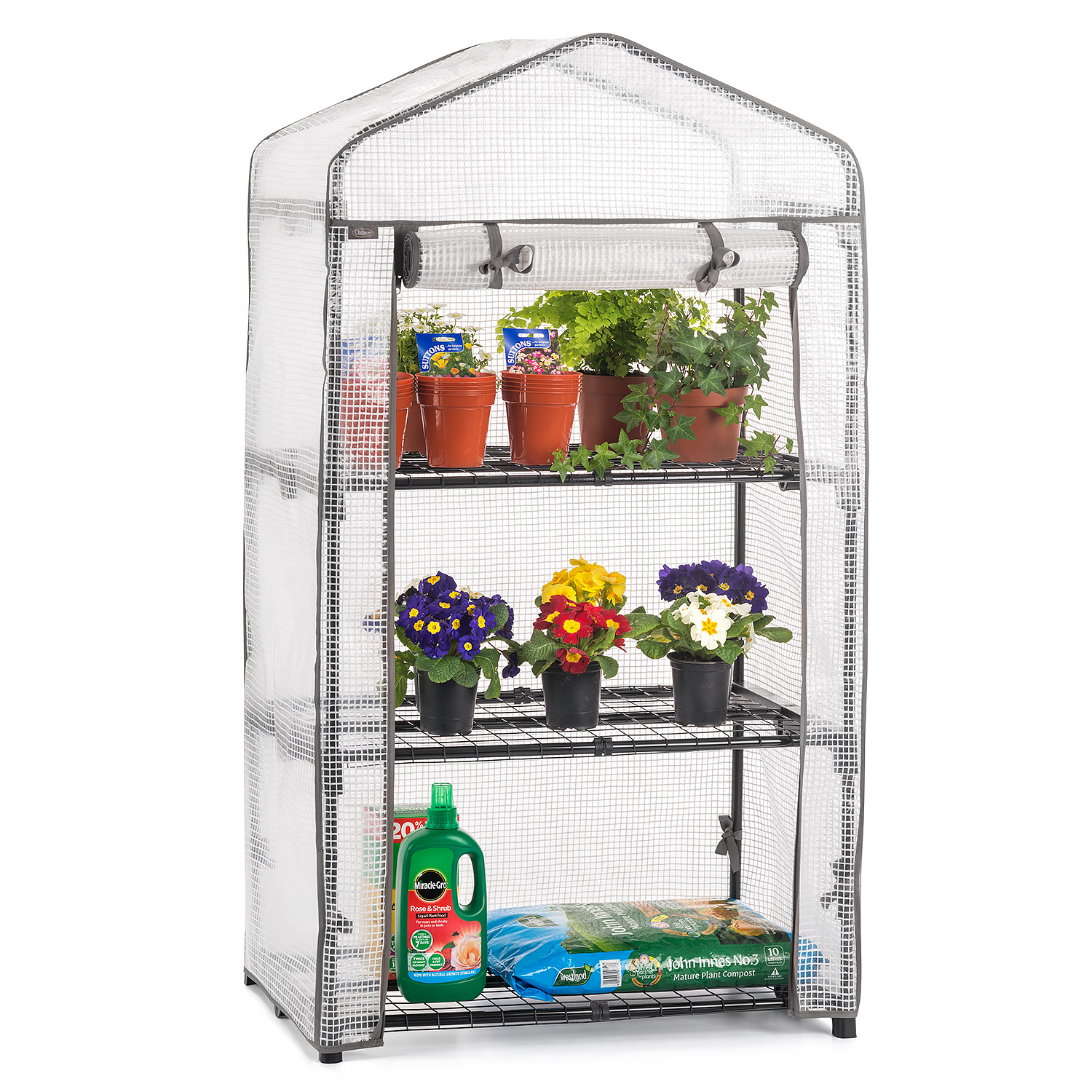 Image of 3 Tier Mini Greenhouse - PE