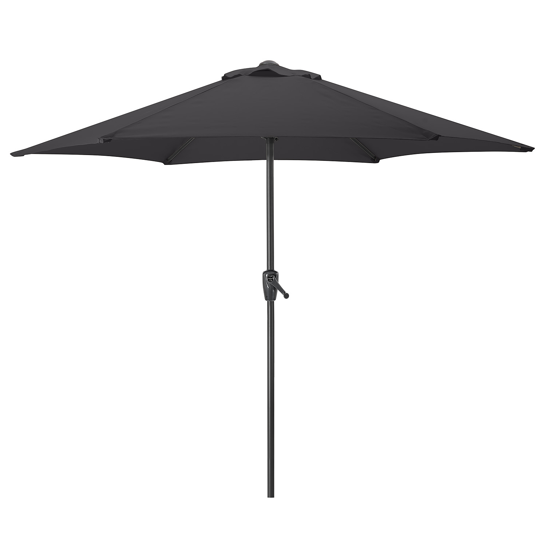 Image of 2.7m Parasol With Crank - Black