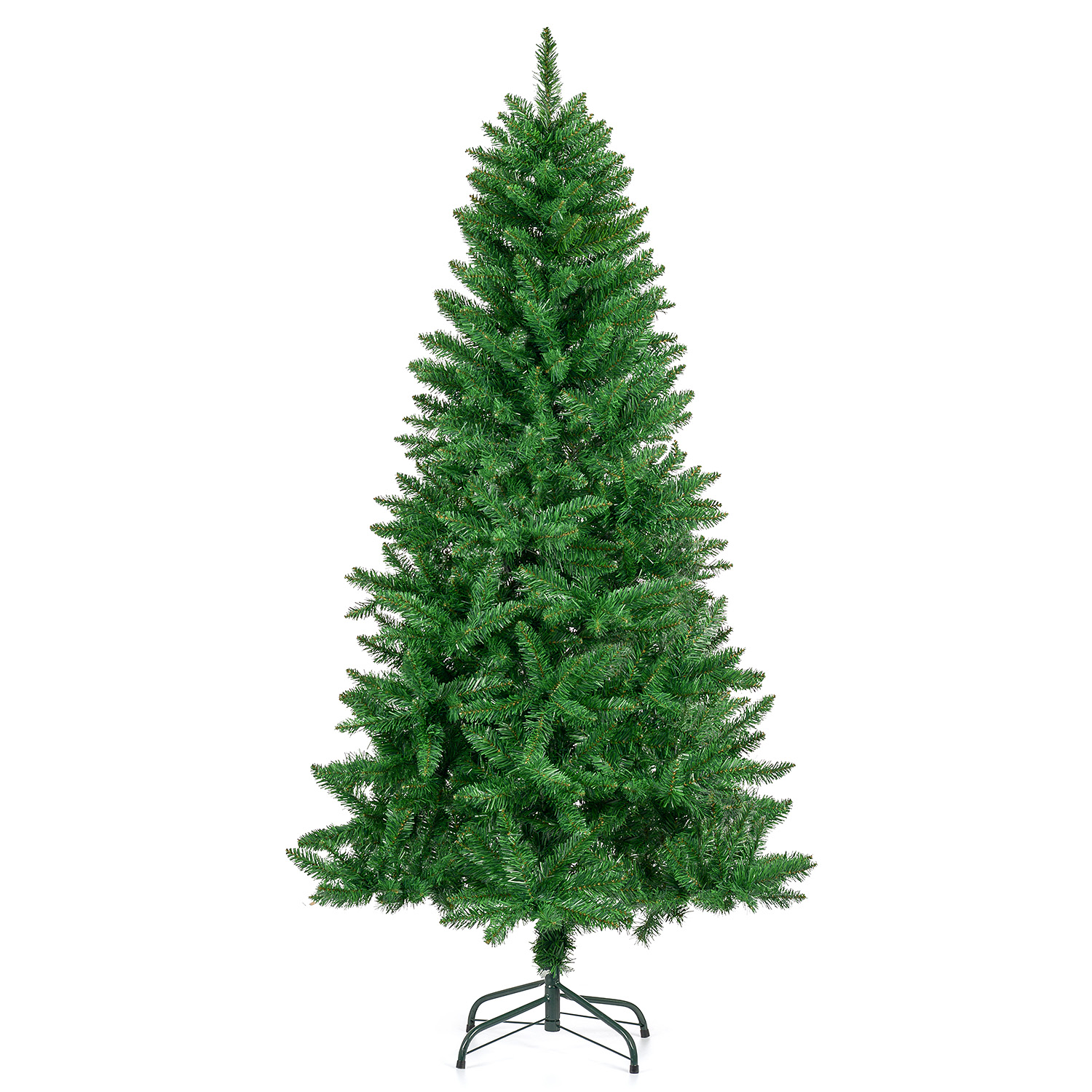 Image of Artificial Spruce Christmas Tree 6ft