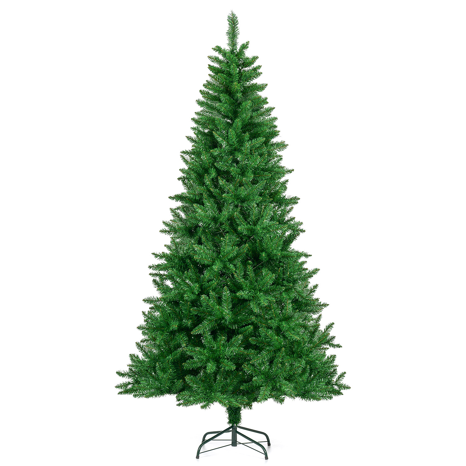 Image of Artificial Spruce Christmas Tree 7ft
