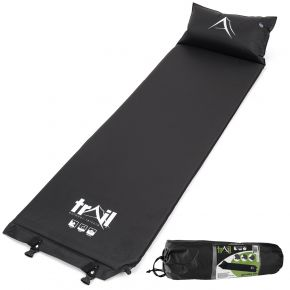 Black Camping Sleeping Mat With Pillow from Trail Outdoor Leisure