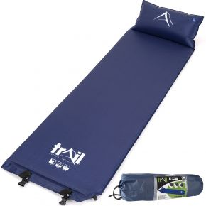 Blue Camping Sleeping Mat With Pillow from Trail Outdoor Leisure
