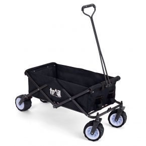 Easily carry your outdoor gear with this Trail Folding Camping Trolley With All-Terrain Wheels