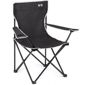 Trail Folding Camping Chair Black