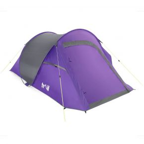 Trail 2-Man Double Skin Pop-Up Tent With Porch