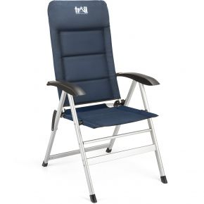 Reclining Camping Chair – Blue